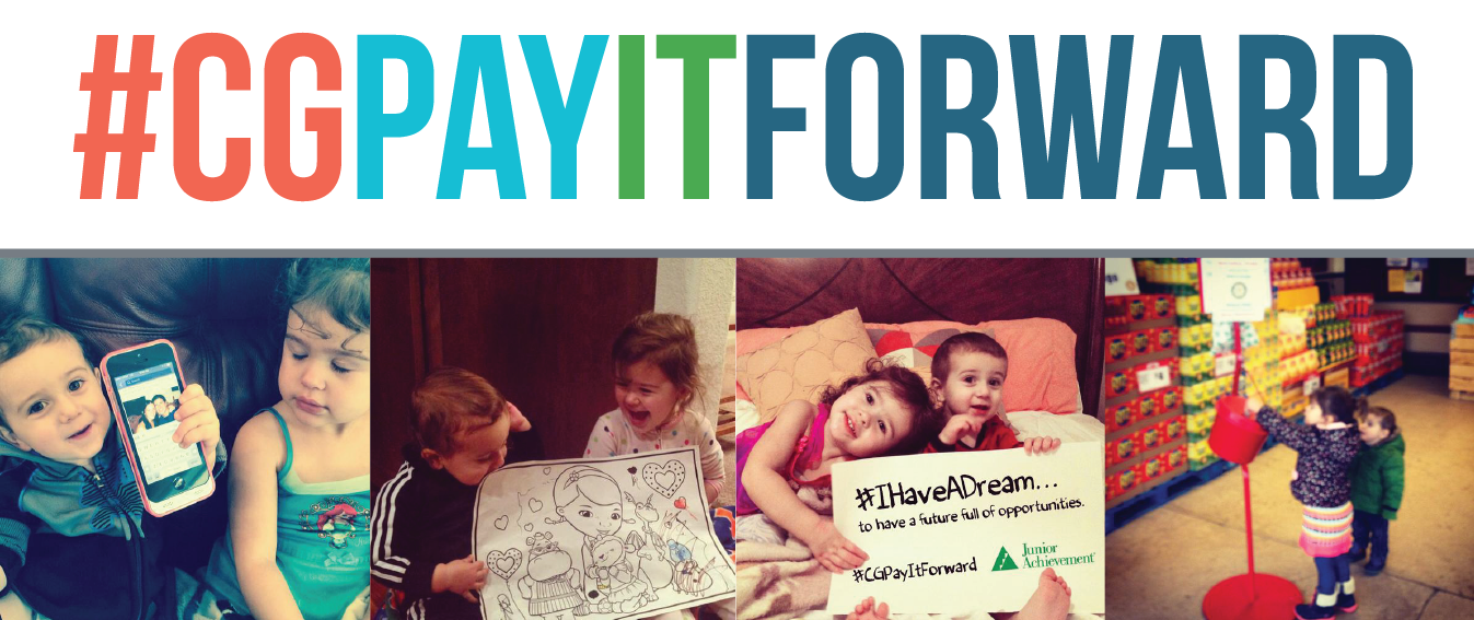 Here's to having healthy and successful futures! #CGPayItForward